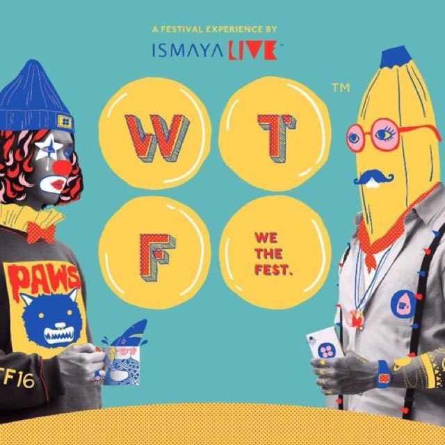 Tiket We The Fest (WTF)