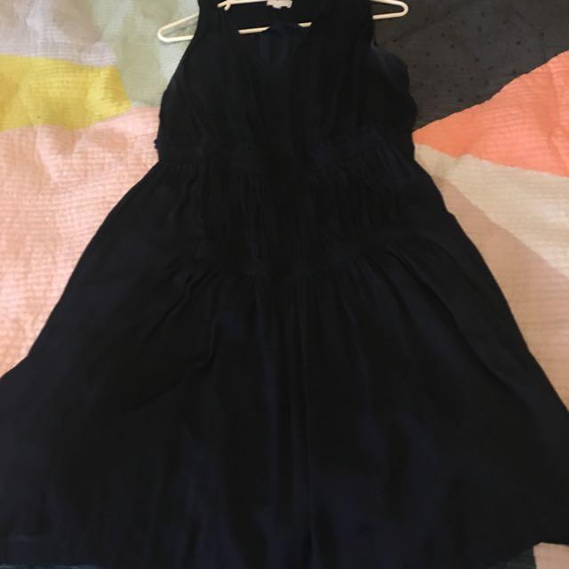 witchery Navy Dress