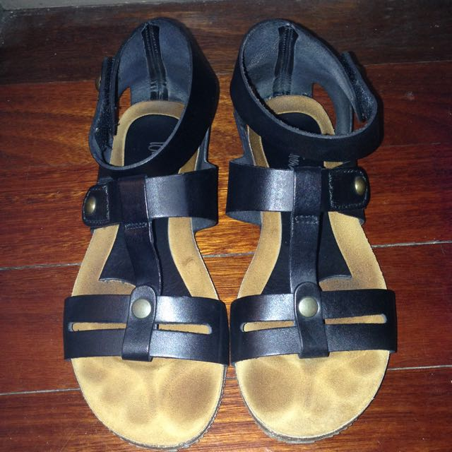Wittner Birkenstock Style Leather Sandals