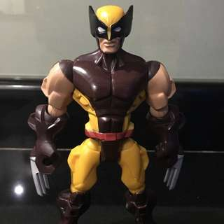 Marvel Hero Mashers Wolverine Brown ( Legends Universe Select )
