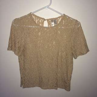 Lace T Shirt (forever 21)