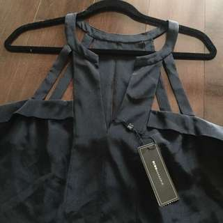 BCBG Max Aria Black Top