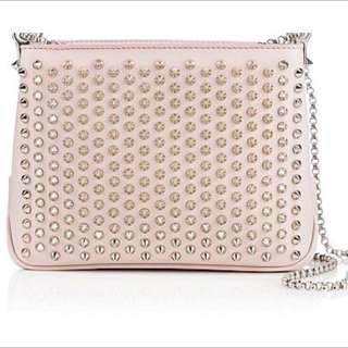 Genuine Christian Louboutin Triloubi Crossbody