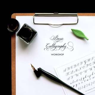 Basic Calligraphy Workshop (9 Jul) with The Boarding Room