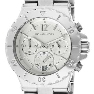 MICHAEL KORS Mk5498 女錶 鋼錶 女友 生日 禮物 情人節 全新 三眼錶 銀色 正品
