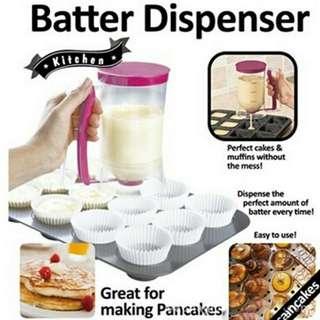 Gelas Takar Batter Dispenser Kue Pancake Muffin Cup Cake