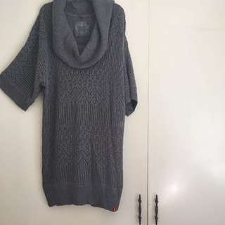 ❄️ Cowneck Knit Tunic/ Dress