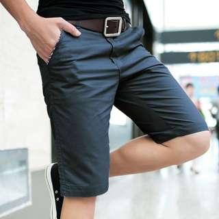 四色-素色百搭休閒短褲