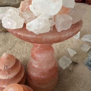 Himalayan Salt Mine Lamps