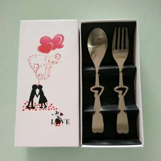 Gift Set (Tea Spoon and Fork)
