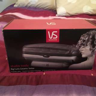 VS Sassoon Big Curls Ceramic Setter