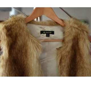 GASP fur jacket