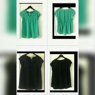 H&M MAMA Chiffon blouse