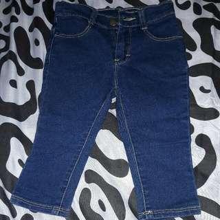 Pre loved Skinny Jeans for Baby (adjustable waist)