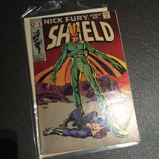 Rare Vintage SHIELD Comic