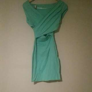 Kookai Mint Bodycon Dress Size1