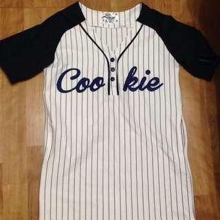 棒球小洋裝