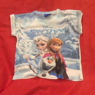 Frozen Themed T Shirt (6y)