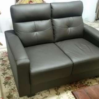 Nicollo 2 Seater Leather Sofa