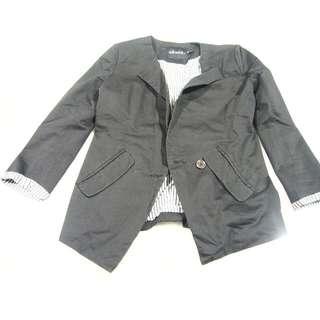 Ebase Blazer S size Khaki Green colour