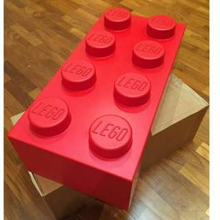 Lego Red Big 2 x 4 Brick