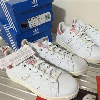 Adidas Stan Smith 粉 22.5cm