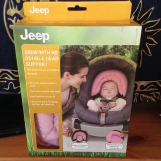 Jeep Grow With Me Double Head Support