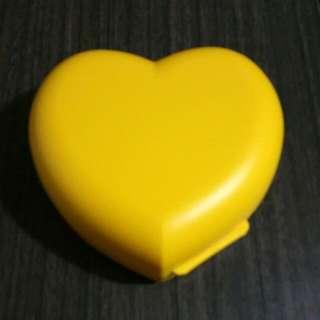 Heart-shaped Tupperware