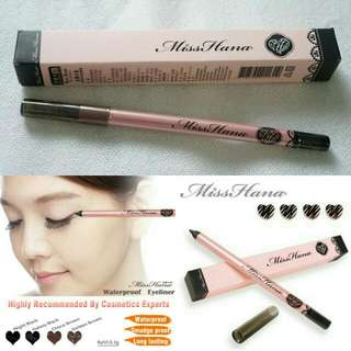Miss Hana Waterproof Eyeliner