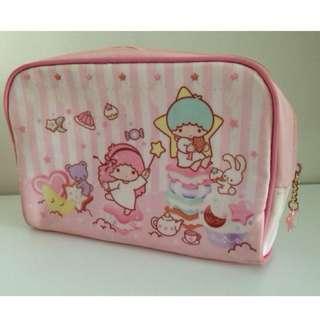二手 Sanrio kikilala 雙子星 雙星仙子 化妝包