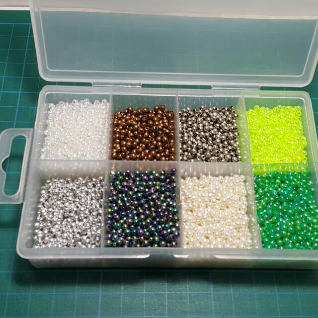 3m圓珠珠含盒子一起賣