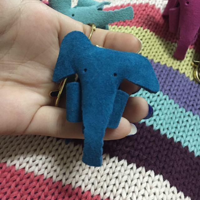 手工皮飾 大象🐘 你的鼻子怎麼那麼長