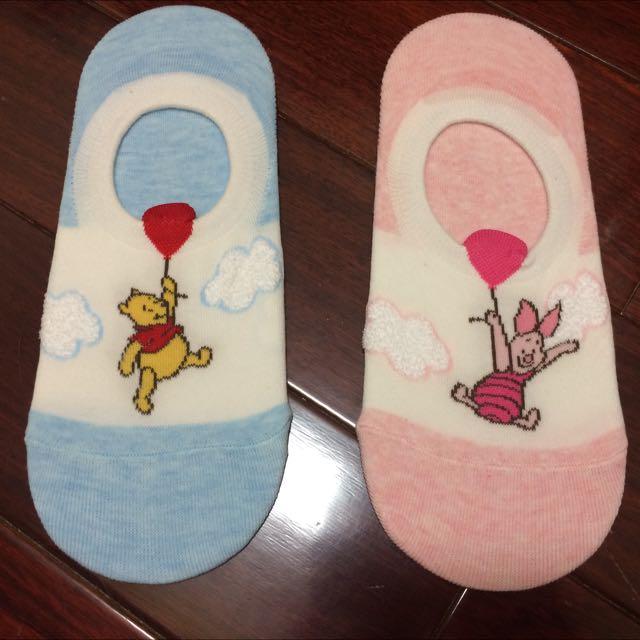 🇰🇷正韓🇰🇷 迪士尼官方授權 小熊維尼/米奇/米妮 船型短襪