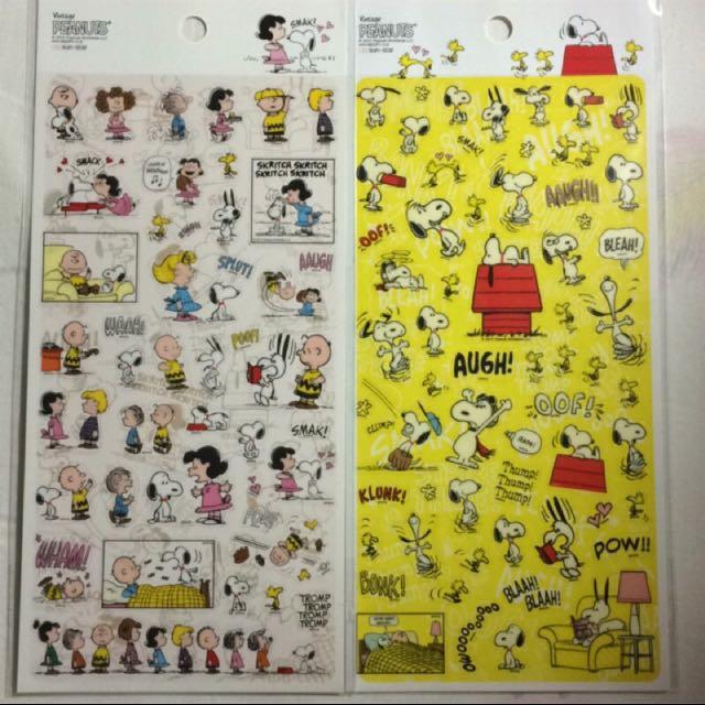 🎌日貨🎌  Snoopy 史努比 貼紙