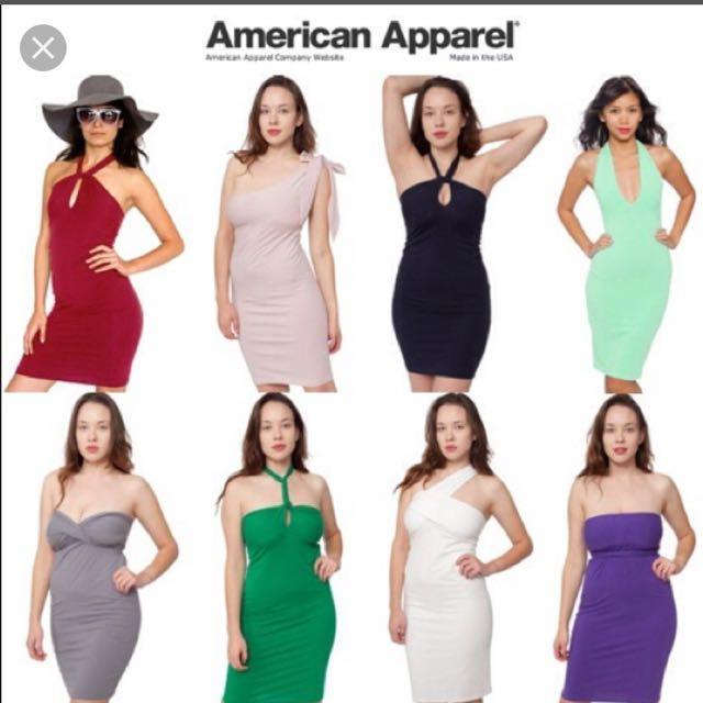 American Apparel Cotton Spandex Jersey Bandeau