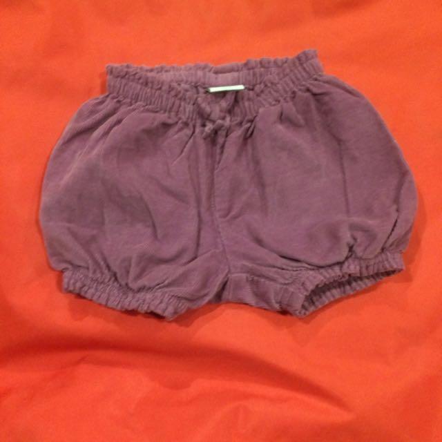Baby Gap shorts (0-3mths)
