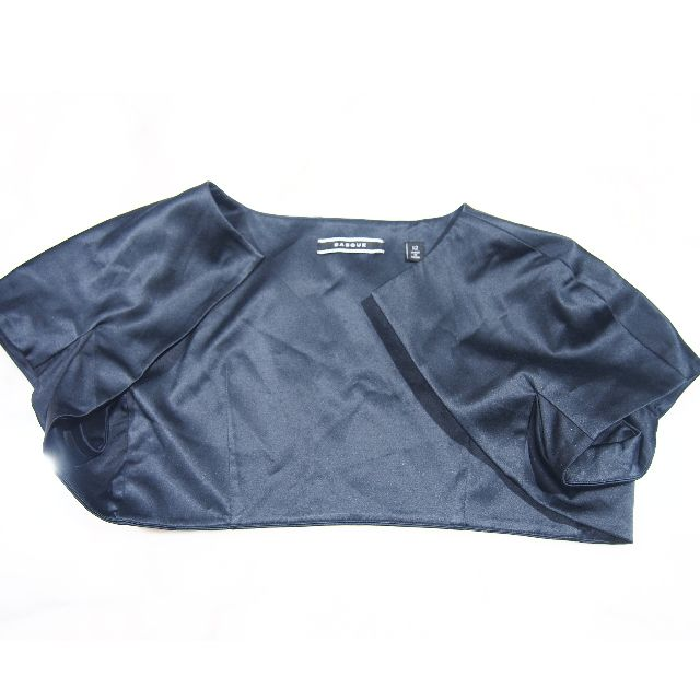 Basque skinny crop blazer size 12