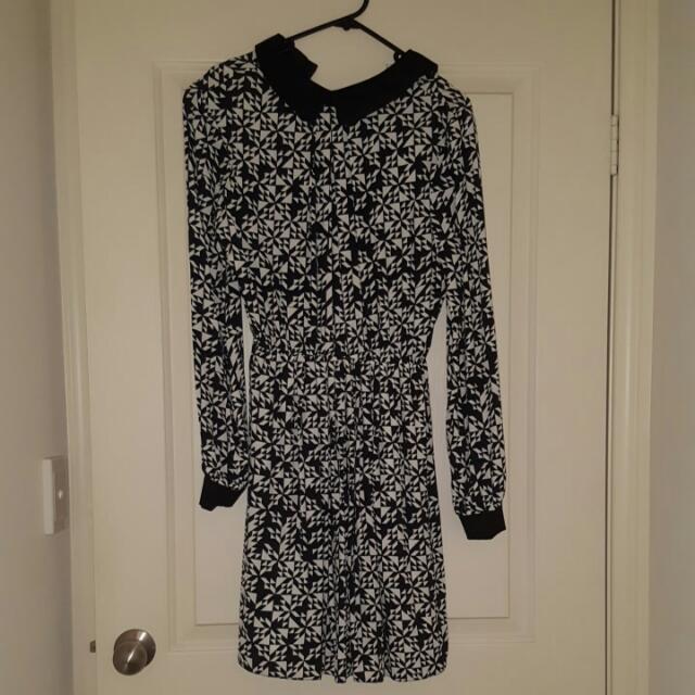 Black And White ASOS Dress