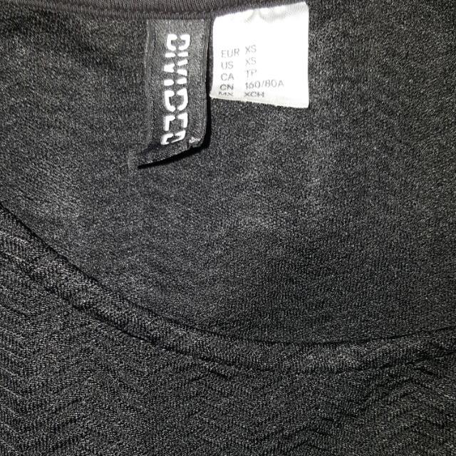 Black Pepplum H&M