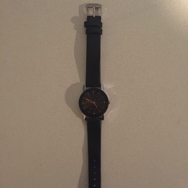 Brand New Black & Gold Watch