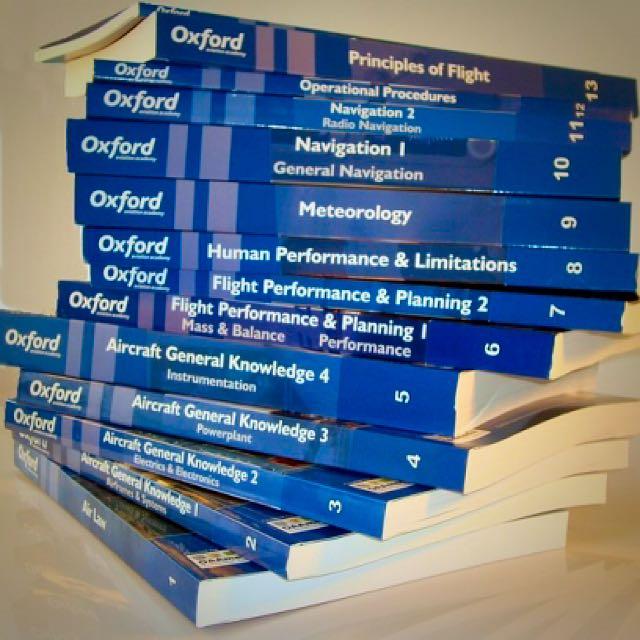 CAE OXFORD HARDCOPY TEXTBOOKS & SOFTCOPY FOR ATPL THEORY GROUND SCHOOL PILOTS