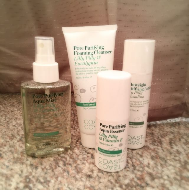 Coast To Coast Pore/Moisturising Pack