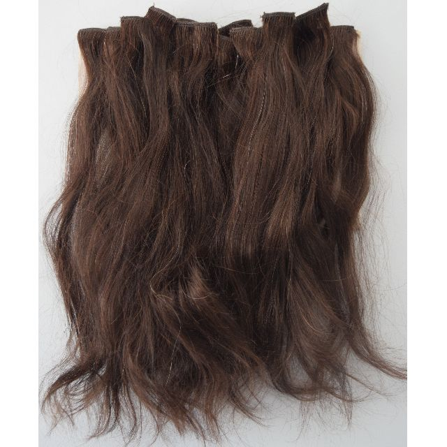 Dark brown hair extentions