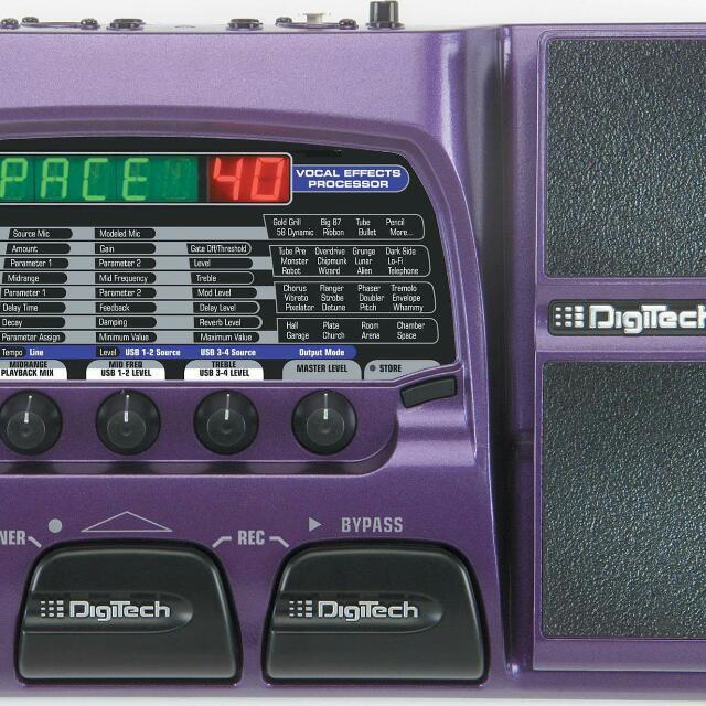 Digitech VX400 人聲效果器