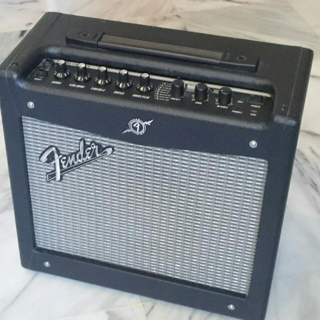 Fender Mustang 1 V2 >> Fender Mustang 1 V2 Guitar Amp Music Media On Carousell