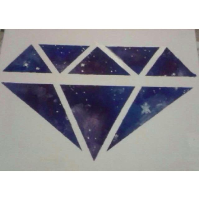 Diamond Galaxy Canvas Art