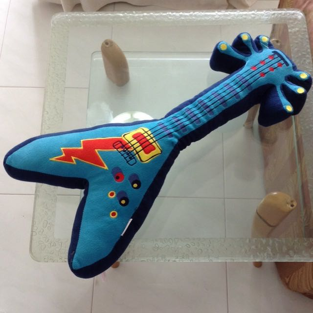 Guitar Stuffed Toy