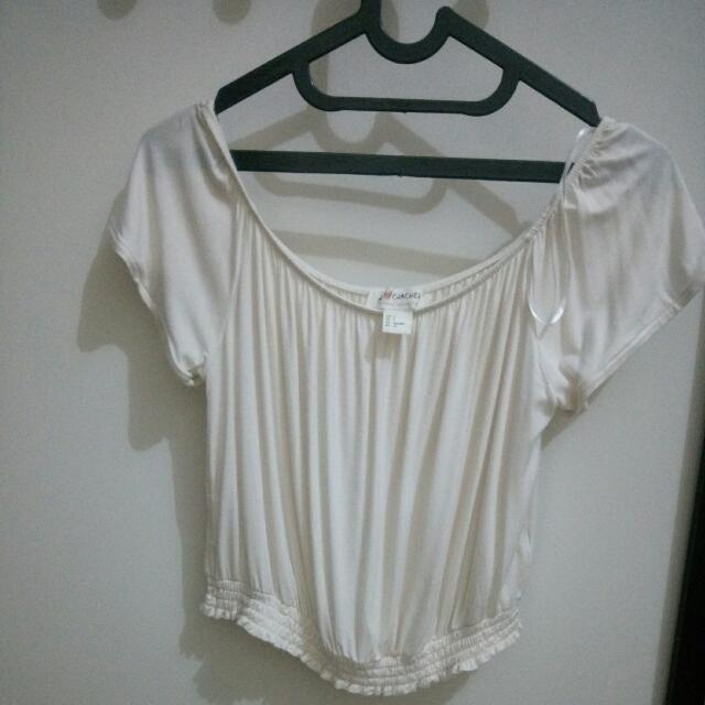 H&M Shoulderless Top