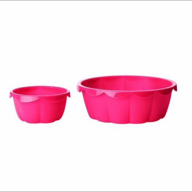 Ikea Baking Mould, Set Of 2 Pink