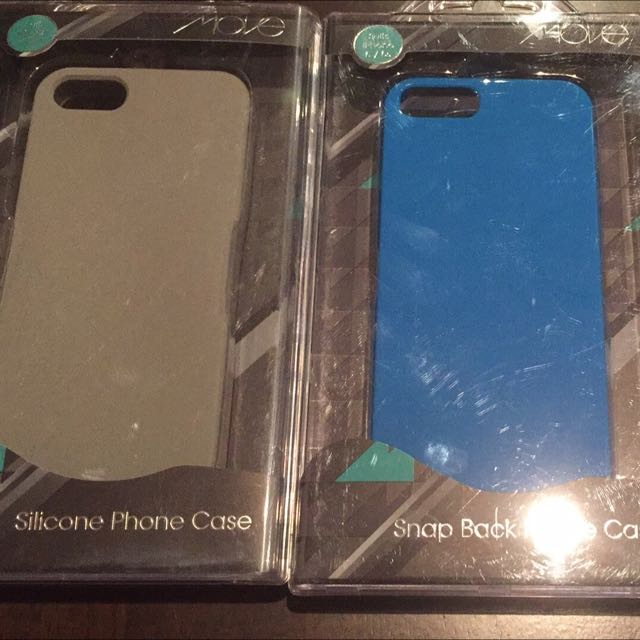 iPhone 5 And 5s Cases In Silicone Or Hardcover